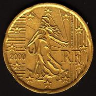 France 2000 - 20 Euro Cent - France