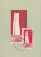 DDR - Mi.783 Karte Nationale Mahn- Und Gedenkstätte Sachsenhausen - Erstag 8.9.1960 - FDC: Ersttagsblätter