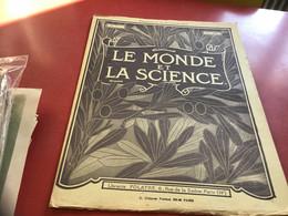 Le Monde De La Science Paris Fabrication Des Allumettes Machine Ancienne Machine Allumettes Machine Usine - 1900 - 1949