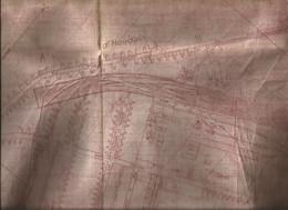 Plan De Houdain-0.600x0700-état Moyen - Other Municipalities