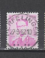 COB 1067 Centraal Gestempeld Oblitération Centrale HERFELINGEN - 1953-1972 Glasses