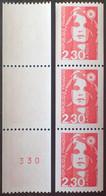 R1117/164 - 1990 - TYPE MARIANNE DE BRIAT - N°2628 + 2628a TIMBRES NEUFS** - 1989-96 Maríanne Du Bicentenaire