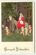 N°17831 - Flatscher - Gesegnete Weihnachten - Femme Sur Un âne, Portant Un Bébé - Altri