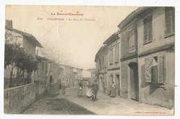 31 Haute Garonne Colomiers La Rue Du Village Animée 1906 - Altri Comuni