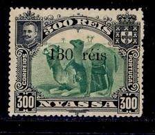 ! ! Nyassa - 1903 D. Carlos Local OVP 130 R - Af. 47 - No Gum - Nyasaland