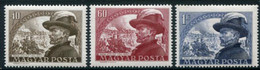 HUNGARY 1950 Joszef Bem Centenary MNH / **.  Michel 1142-44 - Unused Stamps