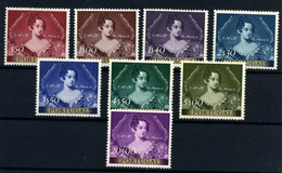 Portugal Nº 797/804. Año 1953 - Unused Stamps