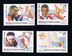 GUINEA ECUATORIAL 1993 - OLYMPICS BARCELONA 92 - YVERT Nº 292-95 - EDIFIL Nº 165-168 - MICHEL 1760-1763 - SCOTT 179-182 - Estate 1992: Barcellona