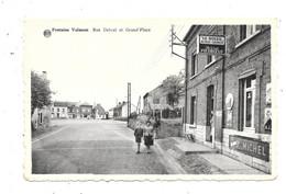 Fontaine-Valmont NA7: Rue Delval Et Grand'Place - Merbes-le-Chateau