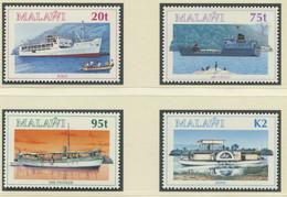 MALAWI / MiNr. 640 - 643 / Schiffe Auf Dem Malawisee / Postfrisch / ** / MNH - Boten