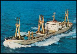"RUSSIA POSTCARD Mint BALTIC SHIPPING Leningrad SHIP ""SOFYA PEROVSKAYA"" CARGO BATEAU Arctic Polar TRANSPORT BSCo K1 USSR - Commercio"