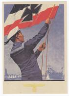 Ansichtskarte Marine-Volkswoche Kiel 1935 Ungebraucht Matrose Flagge Sailor - Otros