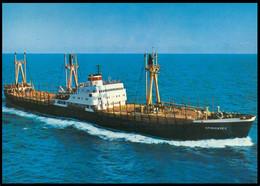 "RUSSIA POSTCARD Mint BALTIC SHIPPING Leningrad SHIP ""BRYANSKLES"" CARGO BATEAU Arctic Antarctic TRANSPORT BSCo K1 USSR - Commercio"