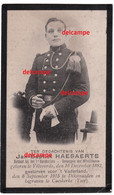 Oorlog Guerre Jan Baptist Haesaerts Vilvoorde Soldaat Carabinier Gesneuveld Te Kaaskerke Diksmuide 1915 Pervijze - Santini