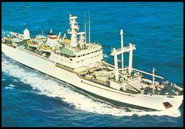"RUSSIA POSTCARD Mint BALTIC SHIPPING Leningrad SHIP ""PROFESSOR SHCHEGOLEV"" Training CARGO BATEAU TRANSPORT BSCo K1 USSR - Commercio"