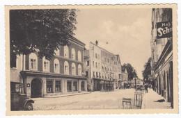 Ansichtskarte A. Hitlers Geburtshaus Mit Vorstadt Braunau A. Inn Sonderstempel 20. April 1939 Braunau Geburtstag - Otros