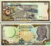 Syria - 500 Pounds 1998 UNC - Syria