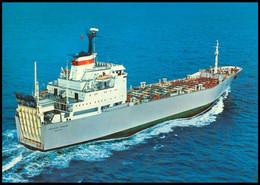 "RUSSIA POSTCARD Mint BALTIC SHIPPING Leningrad SHIP ""MEKHANIK TARASOV"" CARGO BATEAU TRANSPORT BSCo K1 USSR - Commercio"