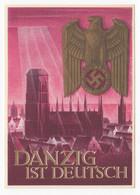 Deutsches Reich Ganzsache Winterhilfswerk 1939 Danzig Ist Deutsch 1939 Ungebraucht - Enteros Postales