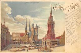 Grus Aus Halle - 1898 - Halle (Saale)