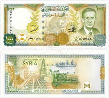 Syria - 1000 Pounds 1997 UNC - Syria