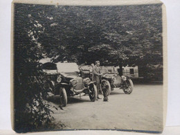 Alsace. Automobile. Apollo Et Peugeot. 1912. 9x8 Cm - Automobiles