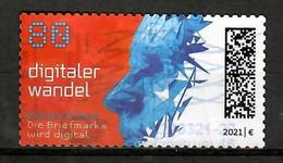 BRD 2021  Mi.Nr. 3592 , Digitaler Wandel - Selbstklebend - Self-adhesive - Gestempelt / Fine Used / (o) - Usados