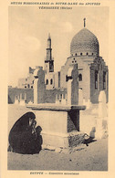 Egypt - CAIRO - Muslim Cemetery - Publ. Missionary Sisters Of Our Lady Of The Apostles - Cairo