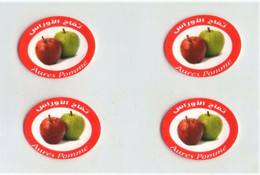 Fruit Label Sticker AlgeriaEtichette Etiquette Etiquetas Adhesive - Frutas Y Legumbres