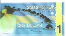 ANTARCTICA 1 DOLLAR 2011 Polymer UNC - Other - America