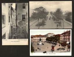 Conjunto 3 Postais Antigos Distrito Do PORTO / Barredo / POVOA De VARZIM - Edição Manoel Carneiro / J.N.B. Portugal - Porto