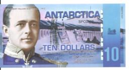 ANTARCTICA 10 DOLLARS 2011 Polymer UNC - Other - America