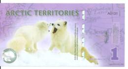ARCTIC TERRITORIES 1 POLAR DOLLARS 2012 Polymer UNC - Other - America