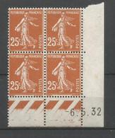 Coins Datés De France Neuf *  N 235  Année 1932  Charnière En Haut - ....-1929