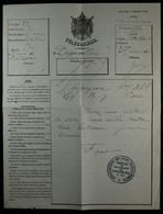 Télégramme De Dieppe Pour Paris- Cachet Administration Des Lignes à L'arrivée, Bureau De Sébastopol 1863 - Telegrafi E Telefoni