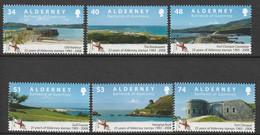 ALDERNEY : Aurigny - N°333/8 ** (2008) - Alderney
