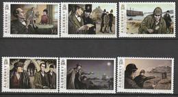 ALDERNEY : Aurigny - N°364/9 ** (2009) Littérature : Sherlock Holmes - Alderney