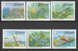 ALDERNEY : Aurigny - N°370/5 ** (2010) Libellules - Alderney