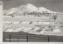 RIVISONDOLI VISTO DA ROCCARASO  CAMPI SCI VG  1959 - L'Aquila