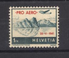 0ch  1315  -  Suisse  -  Avion  :   Yv  34 A  Mi  395  * - Nuovi