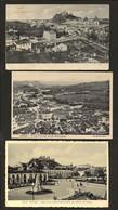 Conjunto De 3 Postais Distrito LEIRIA. Edição Reg + Pap E Typ Paulo Guedes & Saraiva PORTUGAL - Leiria