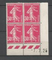 Coins Datés De France Neuf *  N 191  Année 1925  Charnière En Haut - ....-1929