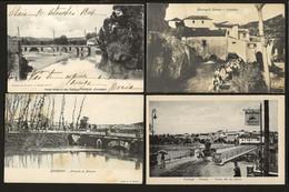 Conjunto De 4 Postais Antigos Distrito De SANTAREM: Almeirim + Pernes + Thomar. Edição Loja Do Barateiro + ... PORTUGAL - Santarem