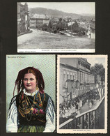 Conjunto 3 De Postais Antigos Do Distrito De BRAGA: Guimarães + Costume Barcellos + Vizela PORTUGAL - Braga