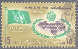 IRAQ  SCOTT NO  570   USED   YEAR  1970 - Iraq