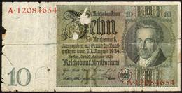 Germany 1929 - 10 Mark Ser. A [Kr. 180a] - 10 Mark
