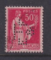 Perforé/perfin/lochung France No 283 ET & F Emile Toulemonde Et Fils - Gezähnt (Perforiert/Gezähnt)