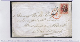Ireland USA Sligo 1872 Cover NEW ORLEANS LA APR 15 Paid Single With 6cents Lincoln To Dromore West - Sin Clasificación