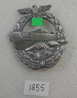 "WW2 Germanl Badge ""Torpedo Boat Commander"" - Hi-quality Replica - 1939-45"