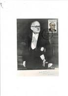 Philatélie Carte Postale REVEL (31) 1er Jour Vincent AURIOL 1er Président De La IVe République Française. - 1980-1989
